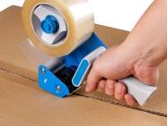 Диспенсер в подарок при заказе клейкой ленты с логотипом